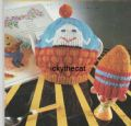 Digital Download PDF Vintage Knitting Pattern Novelty Humpty Dumpty Tea & Egg Cosy Cozy